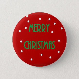 Merry Christmas Button