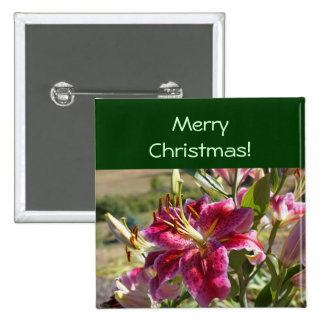 Merry Christmas Buttons Retail Business Lily