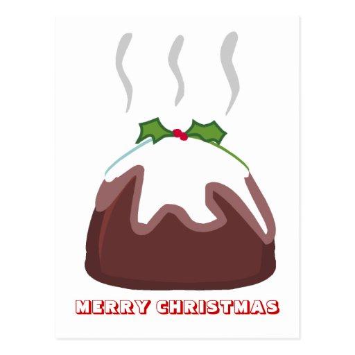 Merry Christmas,  by Nekoni, Christmas Pudding Post Card