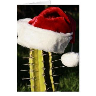 Merry Christmas cactus Card