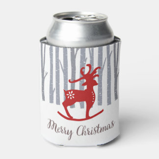 Merry Christmas Can Cooler