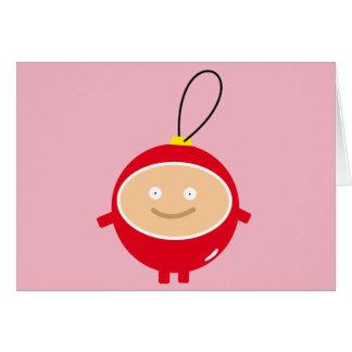 Merry Christmas card - Funny Xmas Card Bowl
