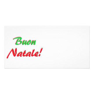 Merry Christmas card Customized Photo Card