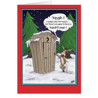 Merry Christmas Card: The List Card