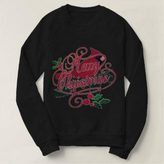 Merry Christmas Cardinal Sweatshirt