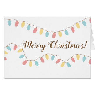 Merry Christmas cards blank inside