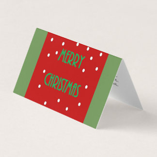 Merry Christmas Cards Set of 25