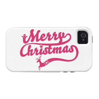 Merry Christmas Case-Mate iPhone 4 Covers