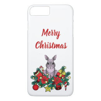 Merry Christmas Case with Christmas Rabbit