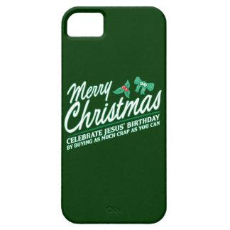 Merry Christmas - Celebrate Jesus' Birthday iPhone 5 Case