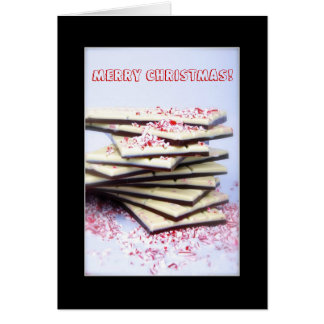 Merry Christmas Chocolate Card