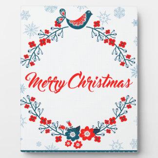 merry christmas christmas greeting plaque