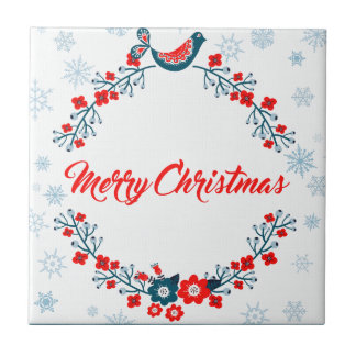 merry christmas christmas greeting tile