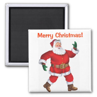 Merry Christmas! - Christmas Magnet 2 Inch Square Magnet