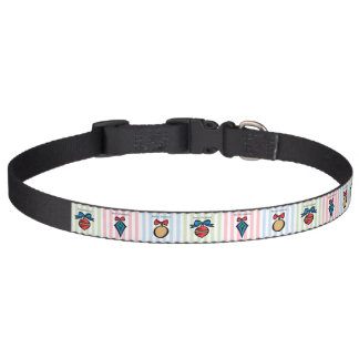 Merry Christmas Christmas Ornament Dog Collar