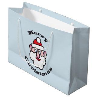 Merry Christmas, Christmas Santa Claus 3.5 Large Gift Bag