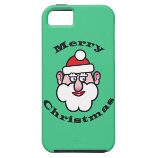 Merry Christmas, Christmas Santa Claus iPhone 5 Cases