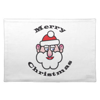 Merry Christmas, Christmas Santa Claus Placemat