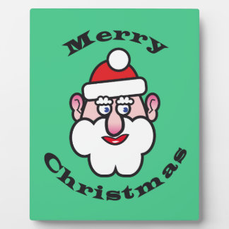 Merry Christmas, Christmas Santa Claus Plaque