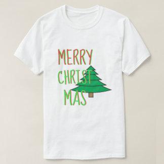 Merry Christmas Christmas Tree T-Shirt
