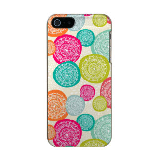 Merry Christmas Circle Pattern Incipio Feather® Shine iPhone 5 Case