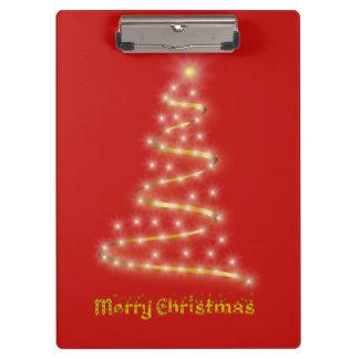 Merry Christmas Clipboard