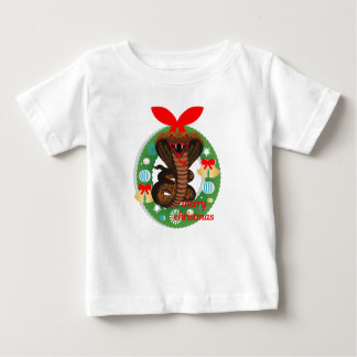 merry christmas cobra snake baby T-Shirt