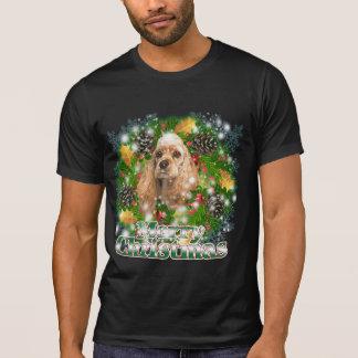 Merry Christmas Cocker Spaniel Tshirts