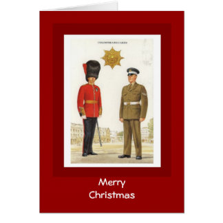 Merry Christmas, Coldstream Guards Card