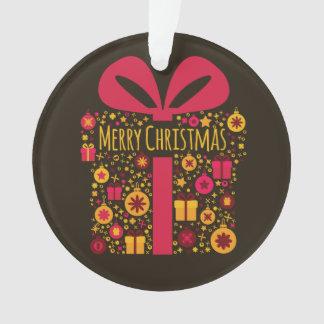 Merry Christmas colorful Christmas present