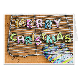 Merry Christmas Cookies Card