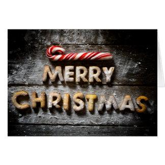Merry Christmas Cookies - Christmas Folded Card