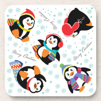 Merry Christmas Beverage Coaster