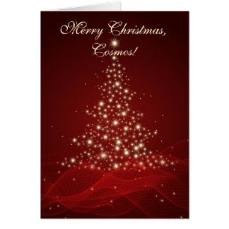Merry Christmas, Cosmos Card