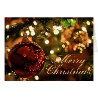 Merry Christmas Custom Inside Card