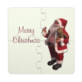 Merry Christmas Custom Puzzle Coasters Puzzle Coaster