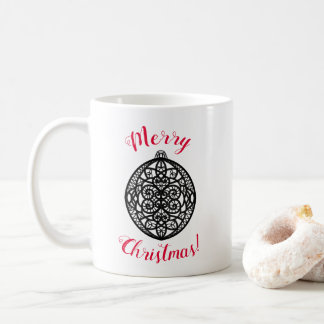 Merry Christmas customizable mug
