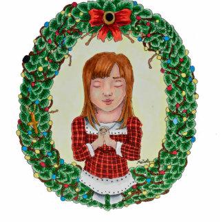 Merry Christmas Cut-Out ornament Photo Sculpture Decoration