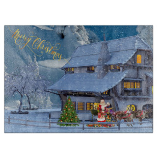 Merry Christmas Cutting Board