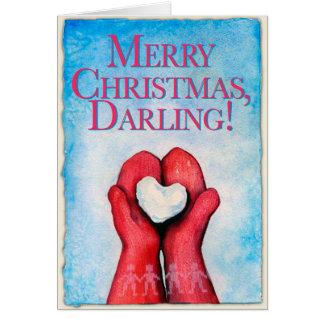 Merry Christmas, Darling! Christmas card