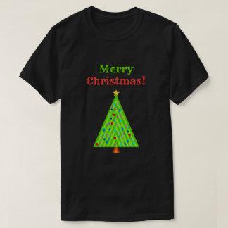 """Merry Christmas!"" + Decorated Christmas Tree T-Shirt"