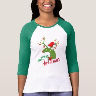 Merry Christmas decoration Reindeer shirt design