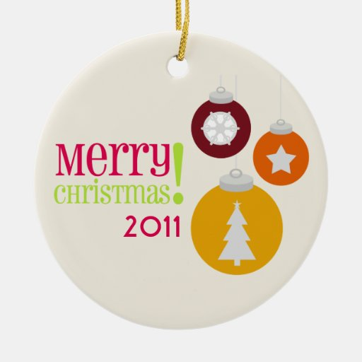 Merry Christmas Decorations Ornament