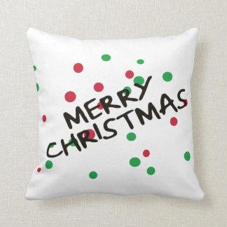 Merry Christmas Decorative Christmas Pillow