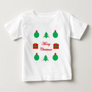 Merry Christmas Design Baby T-Shirt
