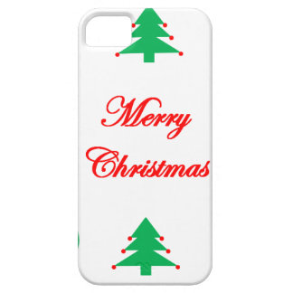 Merry Christmas Design Barely There iPhone 5 Case