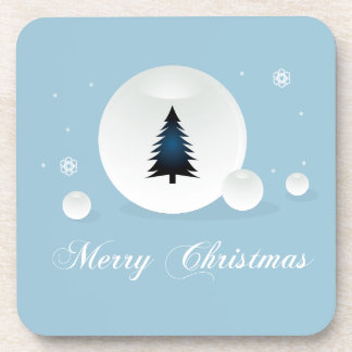 Merry Christmas design Drink Coasters