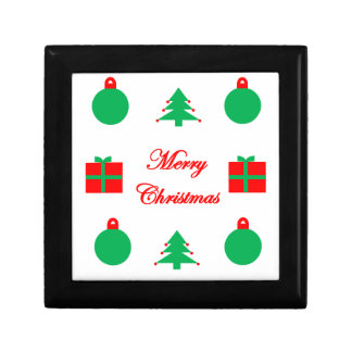 Merry Christmas Design Gift Box