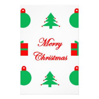 Merry Christmas Design Stationery
