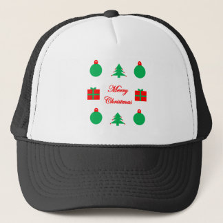 Merry Christmas Design Trucker Hat
